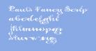 Pauls Fancy Script