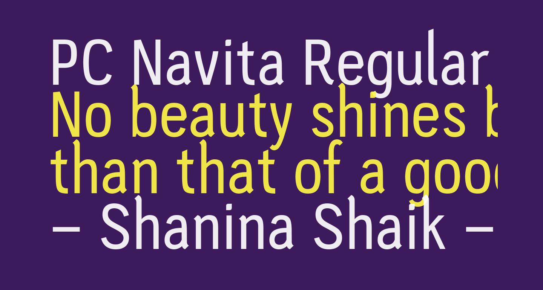 PC Navita Regular