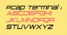 PCap Terminal Condensed Italic