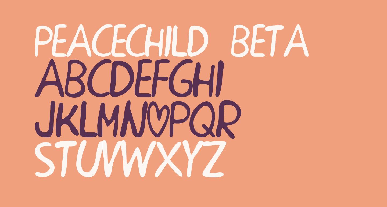 PEACECHILD BETA