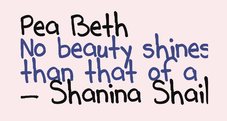 Pea Beth