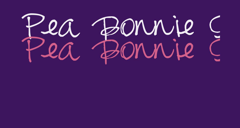 Pea Bonnie Script