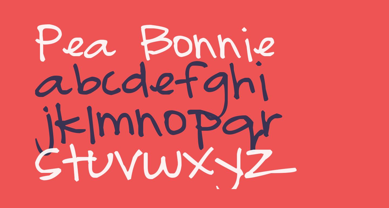 Pea Bonnie