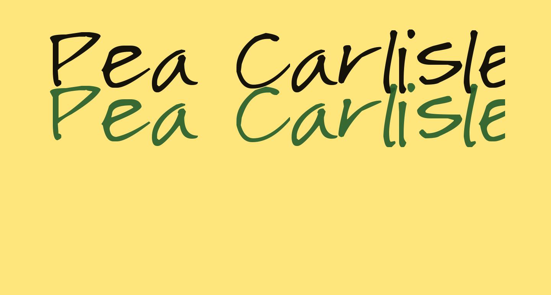 Pea Carlisle
