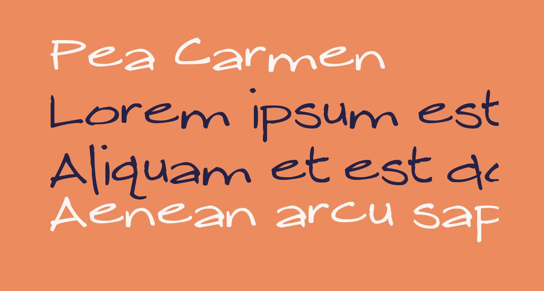 Pea Carmen