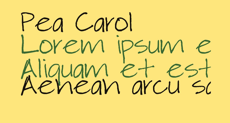 Pea Carol