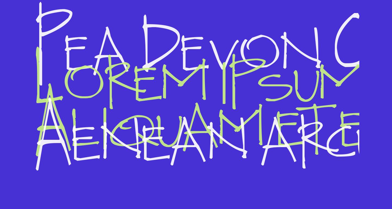 Pea Devon Caps