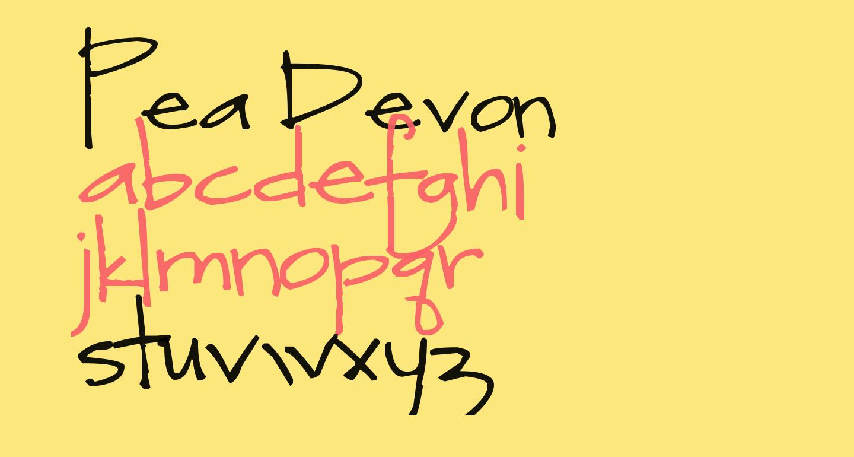 Pea Devon