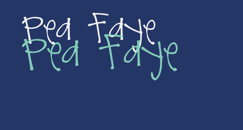 Pea Faye