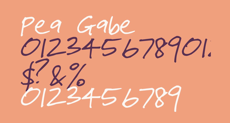 Pea Gabe