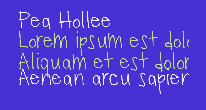 Pea Hollee