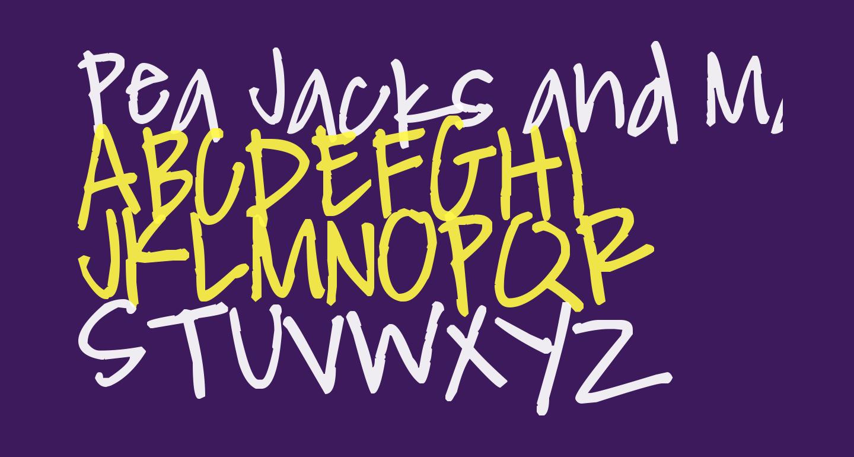 Pea Jacks and Matty