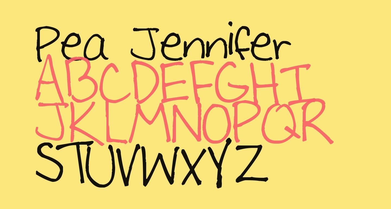 Pea Jennifer
