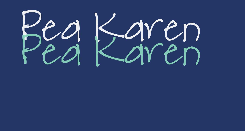 Pea Karen's Print