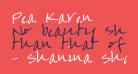 Pea Karen's Script