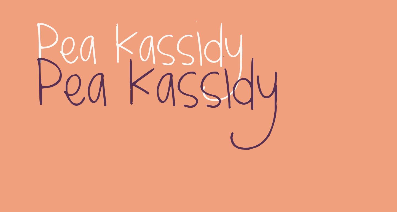 Pea Kassidy