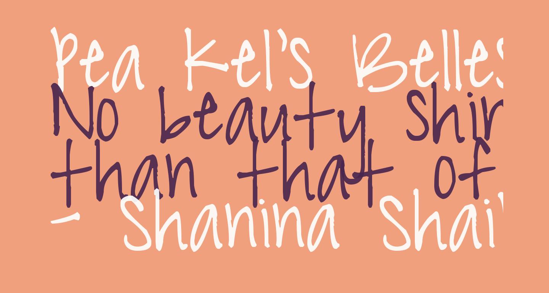 Pea Kel's Belles