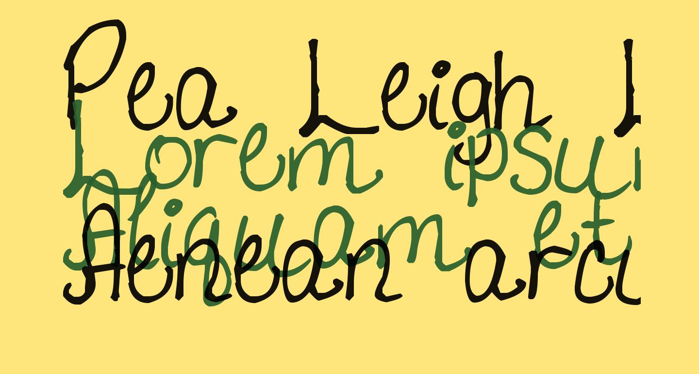 Pea Leigh Leigh