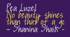 Pea Luzel