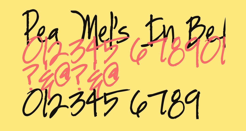Pea Mel's In Between
