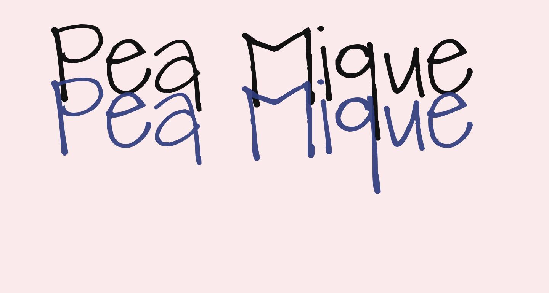 Pea Mique Bold
