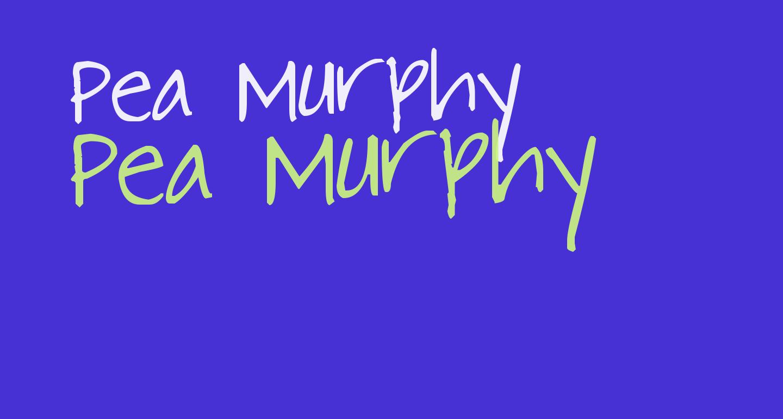 Pea Murphy
