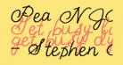 Pea NJH Script