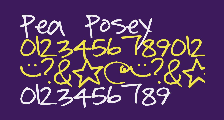 Pea Posey