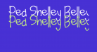 Pea Shelley Belley