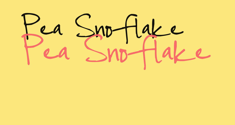 Pea Snoflake