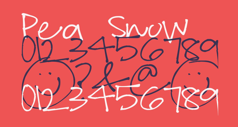 Pea Snow