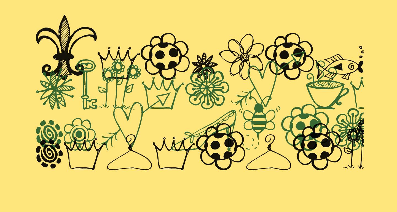 Pea Stacy's Doodles