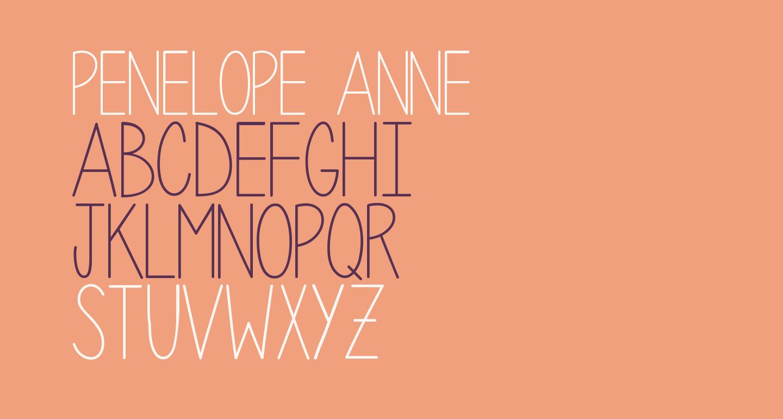 Penelope Anne