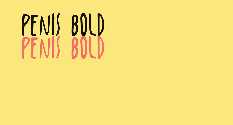 Penis Bold