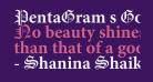 PentaGram s Gothika Bold