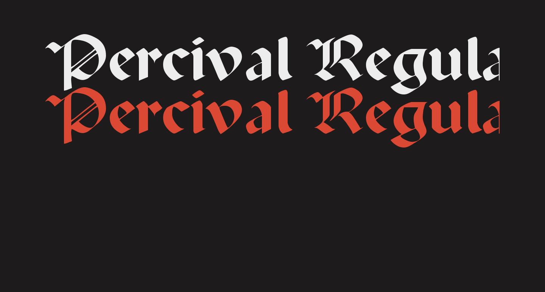 Percival Regular