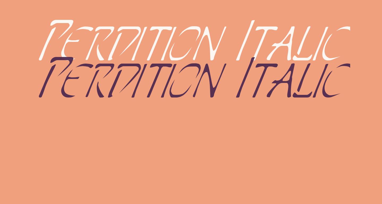 Perdition Italic