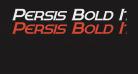 Persis Bold Italic