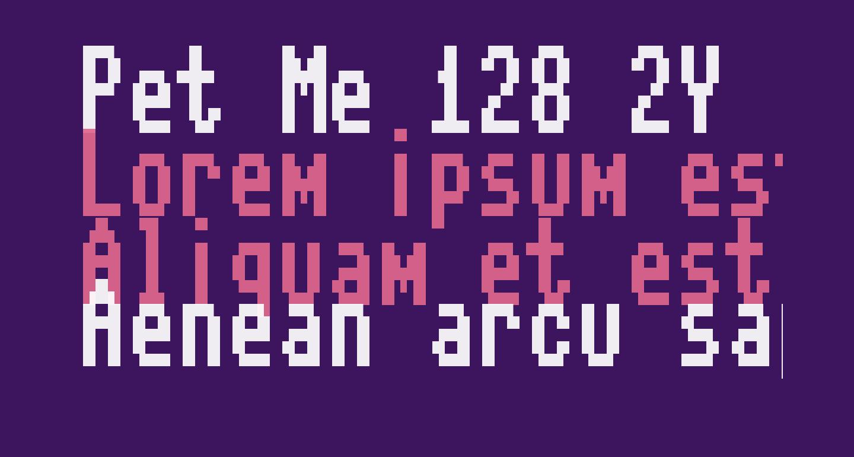 Pet Me 128 2Y