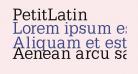 PetitLatin