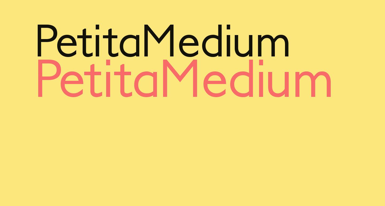 PetitaMedium