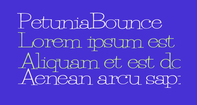 PetuniaBounce