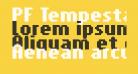 PF Tempesta Seven Compressed Bold