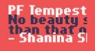PF Tempesta Seven Condensed Bold