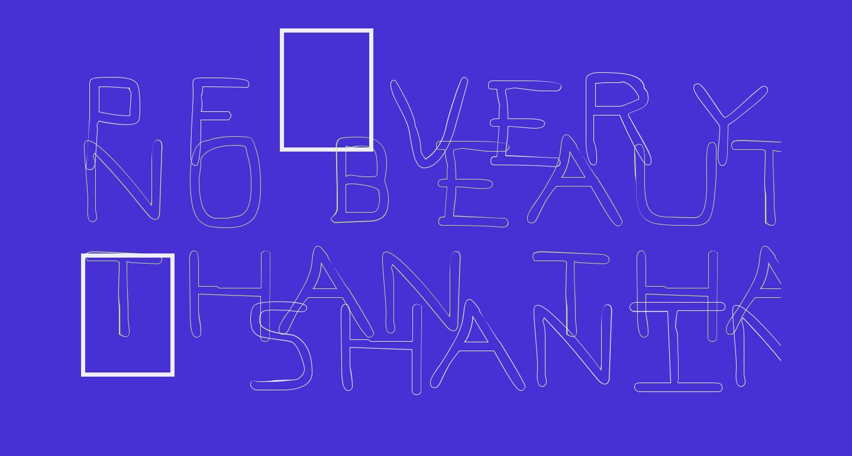 Pf_veryverybadfont7 Outline