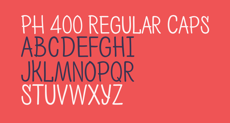 PH 400 Regular Caps