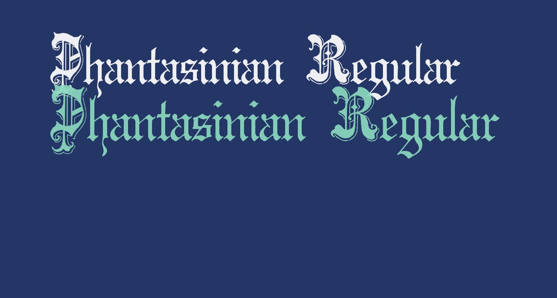Phantasinian Regular