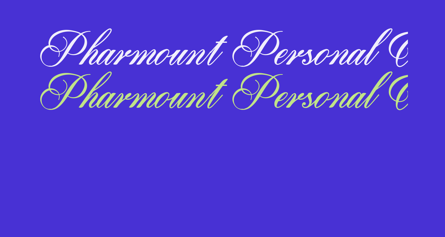 Pharmount Personal Use Only