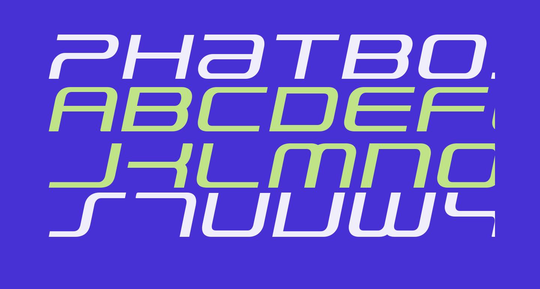 PhatBoy Slim Italic