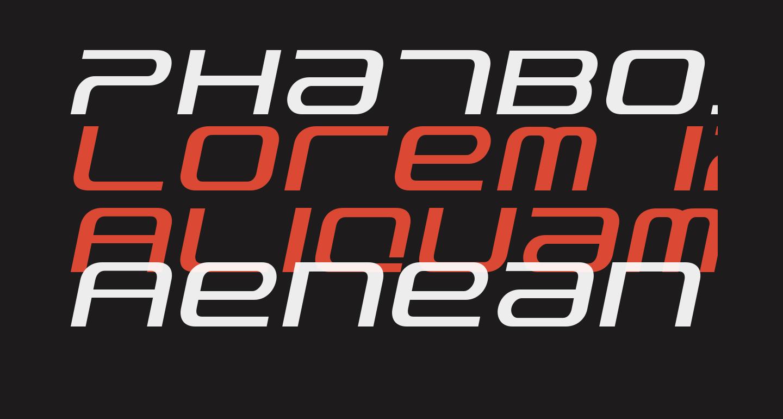 PhatBoySlim-Italic